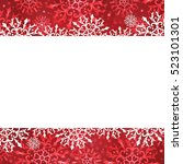 christmas background  with... | Shutterstock .eps vector #523101301