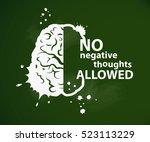 inspirational motivational... | Shutterstock .eps vector #523113229