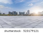 panoramic skyline and buildings ... | Shutterstock . vector #523179121