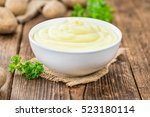 some homemade mash  selective... | Shutterstock . vector #523180114