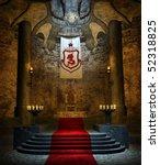 Ancient Fantasy Throne Room...