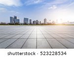 panoramic skyline and buildings ... | Shutterstock . vector #523228534