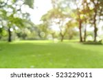 defocused bokeh background of ... | Shutterstock . vector #523229011