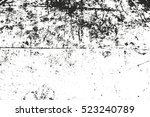 distressed overlay texture of... | Shutterstock .eps vector #523240789