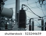 power supply transmission relay ... | Shutterstock . vector #523244659