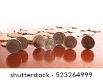 Coins Of The World On The Tabl...