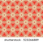 seamless pattern with triangles.... | Shutterstock .eps vector #523266889