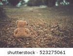 Alone Bear Doll Very Sad Alone...