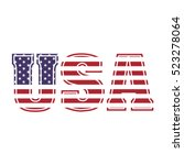 United States Of America Text...