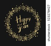 happy new 2017 year. holiday...   Shutterstock .eps vector #523278427