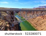 beautiful  scenic glen canyon... | Shutterstock . vector #523280071