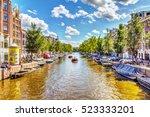 netherlands  amsterdam   august ...   Shutterstock . vector #523333201