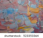 colorful background. painting... | Shutterstock . vector #523353364