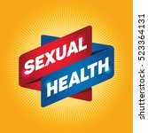 sexual health arrow tag sign. | Shutterstock .eps vector #523364131