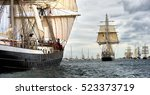 Sailing Ship Race. Tall Ships...