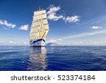 Sailing Ship. Luxury Holidays...