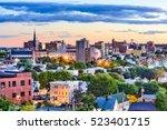 Small photo of Portland, Maine, USA downtown skyline.