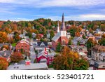 Small photo of Montpelier, Vermont, USA town skyline.