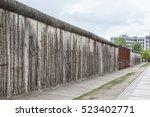 Berlin Wall In Berlin  Germany