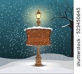 Christmas Greeting Card   Snow...