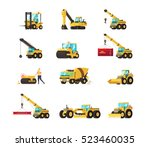 set of construction equipment....