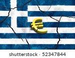 Euro Symbol On Greek Crack...