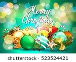 christmas. | Shutterstock .eps vector #523524421