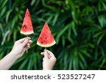 Summer Mood. Watermelon On A...