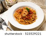 Seafood Pasta Spaghetti With...