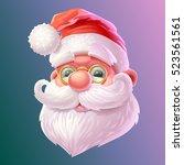 santa claus illustration | Shutterstock .eps vector #523561561