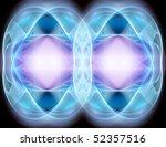 Blue  Lilac Fractal