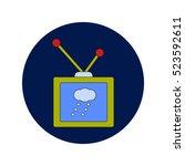 vector illustration in flat... | Shutterstock .eps vector #523592611