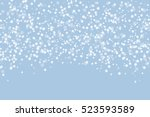 white snow abstract winter... | Shutterstock .eps vector #523593589