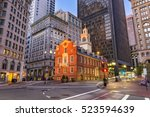 boston  massachusetts  usa... | Shutterstock . vector #523594639