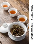 dry leaf tea | Shutterstock . vector #523605007