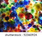 Artwork Of Glass Flowers By...
