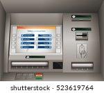 atm   automated teller machine | Shutterstock .eps vector #523619764