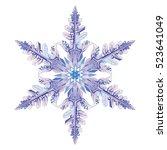 Natural Crystal Snowflake ...