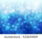 christmas abstract background... | Shutterstock .eps vector #523654009