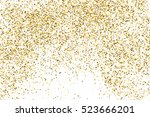 gold glitter texture isolated...   Shutterstock .eps vector #523666201