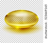 transparent capsule image | Shutterstock .eps vector #523669165
