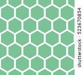 Honeycomb Seamless Vector...