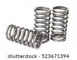 metal steel spring spare parts... | Shutterstock . vector #523671394
