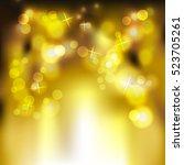 festive light background  ...   Shutterstock .eps vector #523705261