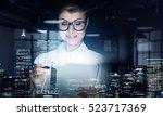 innovative technologies in... | Shutterstock . vector #523717369