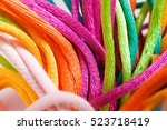Colorful Yarns For Handmade An...