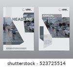 cover design brochures  vector... | Shutterstock .eps vector #523725514
