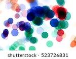 Abstract Blot Dot Blur...