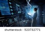 innovative technologies in... | Shutterstock . vector #523732771