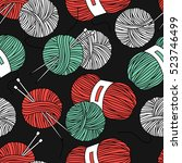 Seamless Pattern With Tools Fo...